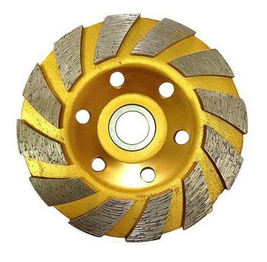 Heavy duty tuobo row diamond-cup grinding-wheel