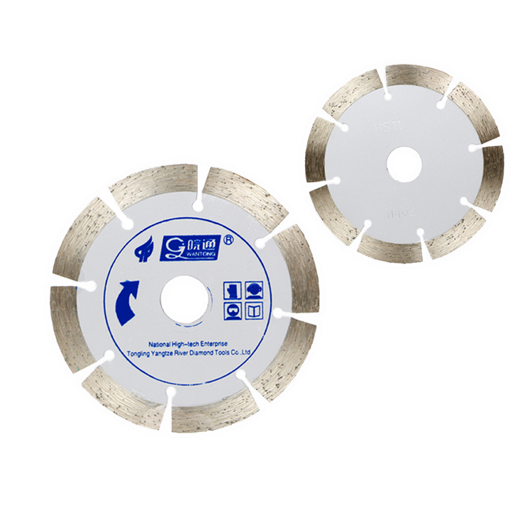 Smoothly and precision cutting blade for marble and tile
