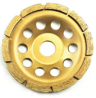 Single-row diamond-cup grinding-wheel